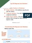 Transforming ER Diagrams Into Relations