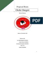 "Proposal Bisnis ""Oishi Onigiri"""