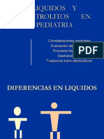 liquidos pediatría