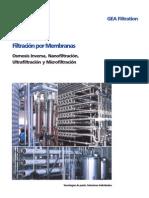 Filtracion Por Membranas