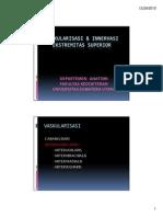 Bbs 20102011 Slide Vaskularisasi Innervasi Ekstremitas Superior(1)