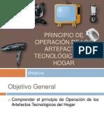 principio de Operación de los Artefactos Tecnológicos del