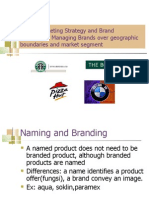 Global Marketing Strategy and Brand Personality