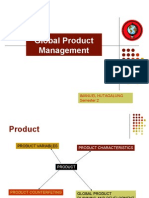 Global Product Management
