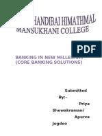 Banking in New Millenium