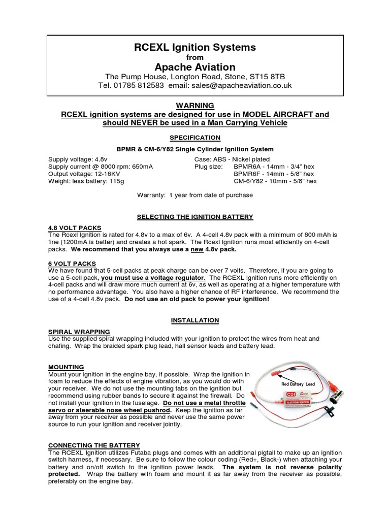 1509420031 rcexl ignition manual ignition system internal combustion engine rcexl ignition wiring diagram at crackthecode.co