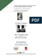 Jornadas Hispano-Alemanas Uni de Alicante - Programa