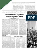 P060403 Un año después Varsovia llora al Papa