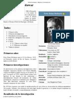 Peter Brian Medawar - Wikipedia, La Enciclopedia Libre