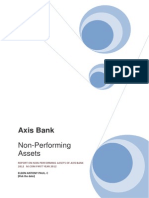 Non Performing Asset Reason eg