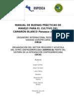 Manual de Buenas Prácticas en Camarones OIRSA-OSPESCA - 2010