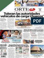 Periódico Norte edición impresa día 5 de enero 2014