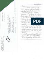 Michelles Letter 2