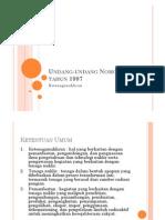 Materi Pasca UTS-PerUU TN 13