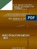 Anti-Discrimination