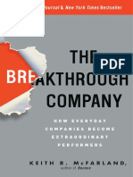The Breakthrough Company by Keith R. McFarland - Excerpt