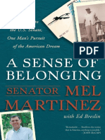 A Sense of Belonging by Mel Martinez - Excerpt