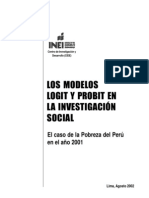 Los Modelos Logit y Probit en la Investigación Social