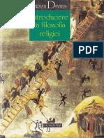 Introducere În Filozofia Religiei - Brian Davies