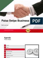 Paisa Swipe Concept