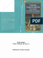 Nietzsche - 1888, Ecce Homo, Colli, Montinari