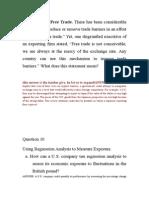 Internationa Corperate Finance