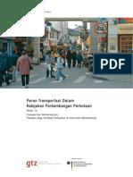 Peran Transportasi Dalam Kebijakan Perkembangan Perkotaan Modul 1a Transportasi Berkelanjutan