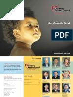 CSC Annual Report 0708