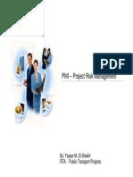 RTA PTP Risk Management Presentation