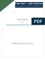 Study on Denim and Gabardine Twill Fabric Cover Factor