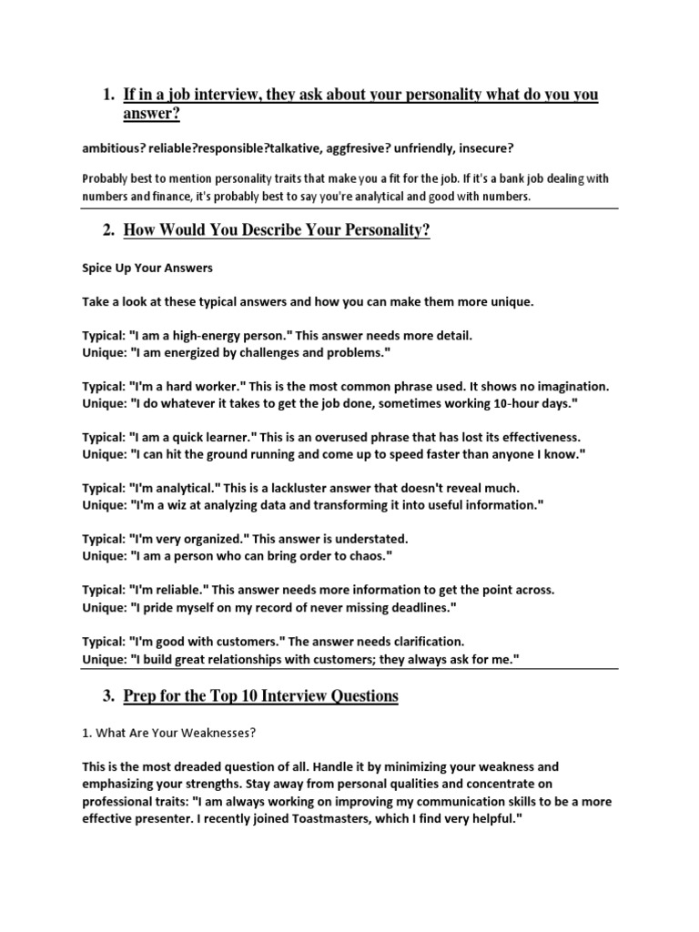 Fantastic Positive Weakness For Resume Image - Examples Professional ...