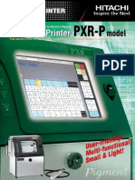 Hitachi PXR-P Brochure