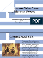 Christmas and New Year Traditions in Greece