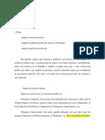 Derecho Procesal Penal (Organos Jurisdiccionales)