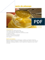 Molho picante de pêssego