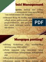 Definisi Management