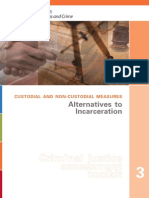 Alternatives Incarceration