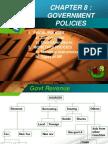 ECO 415 Ch 8 Govt Policies