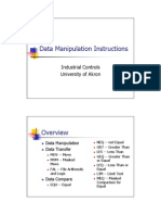 INSTRUCCIONES de MANIPULACIO Movimiento de Datos y Comparaciones Ingles