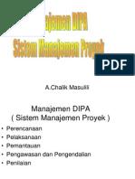 Manajemen DIPA