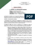 7º CONTROL P.C. DELEGACIÓN VALENCIA