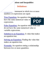 notes unit 03 simple equations