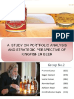 Final Report on kingfisher beer