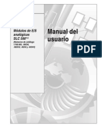 Entradas y Salidas Analogicas SLC 500-Esp