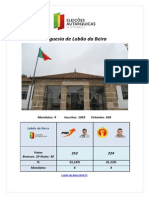 Resultados-Autárquicas 2013-Lobão da Beira