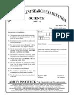 GTSE Online Class VI Science