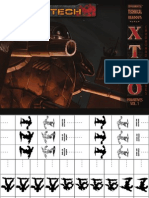 Catalyst Game Labs - BattleTech - Experimental Technical Readout - XTRO Primitives Vol. 1 - Cardboard Miniatures