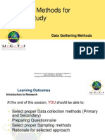 Data Gathering Methods