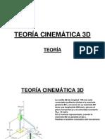 TEORÍA CINEMÁTICA 3D