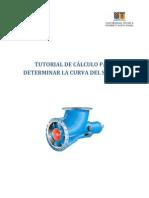 5. TUTORIAL DE C+üLCULO PARA DETERMINAR LA CURVA DEL SISTEMA